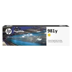 Cartuccia HP - 981y - extra high yield - giallo - originale - pagewide l0r15a