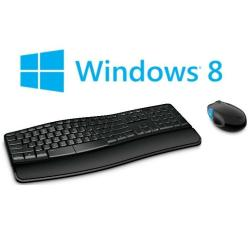 Kit tastiera mouse Microsoft - Sculpt comfort desktop - set mouse e tastiera - italiano l3v-00013