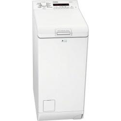 Lave-linge AEG LAVAMAT L71270TL - Machine à laver - pose libre - largeur : 40 cm - profondeur : 60 cm - hauteur : 89 cm - chargement par le dessus - 7 kg - 1200 tours/min - blanc