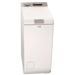 Lave-linge AEG L75370TL - Machine à laver - pose libre - largeur : 40 cm - profondeur : 60 cm - hauteur : 89 cm - chargement par le dessus - 7 kg - 1300 tours/min - blanc