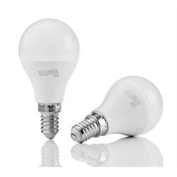 Lampadina LED Nilox - Illumia plus - lampadina led - e14 - 8 w - luce bianca calda ldble14ww08w12