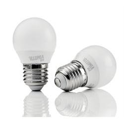 Lampadina LED Nilox - Illumia plus - lampadina led - e27 - 6 w - luce bianca naturale ldble27nw06w12