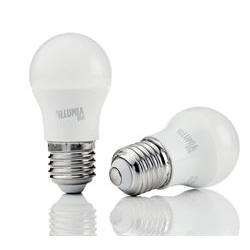 Lampadina LED Nilox - Illumia plus - lampadina led - e27 - 8 w - luce bianca calda ldble27ww08w12