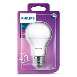 Lampadina LED Philips - Goccia E27, 40W, 2700K