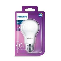 Lampadina LED Philips - Goccia E27, 40W, 6500K