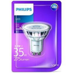 Faretto LED Philips - GU10, 35W, 4000K