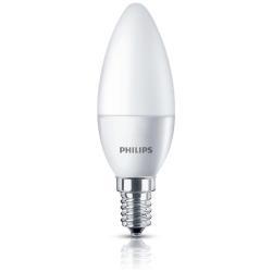 Lampadina LED Philips - Oliva Smerigliata E14, 25W, 4000K