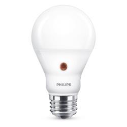 Lampadina LED Philips - E27 con sensore crepuscolare, 60W