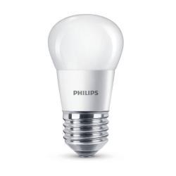 Lampadina LED Philips - Sfera E27, 40W, 2700K