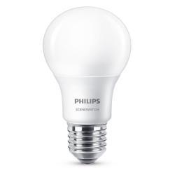 Lampadina LED Philips - Goccia E27, Scene Switch, 3 scenari in 1