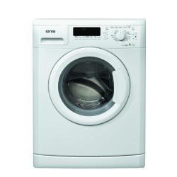 Lave-linge Ignis LEI 1280 - Machine à laver - pose libre - largeur : 59.5 cm - profondeur : 56.5 cm - hauteur : 85 cm - chargement frontal - 56 litres - 8 kg - 1200 tours/min - blanc