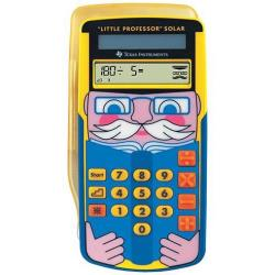 Calcolatrice Texas Instruments - Little professor solar