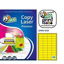 Image of Etichette Copy laser premium - etichette fluorescenti - 3080 etichette lp4fg-4725