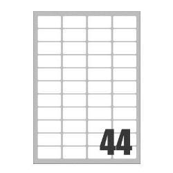 Image of Etichette Copy laser premium - etichette - 4400 etichette - 47.5 x 25.5 mm lp4w-4725