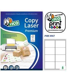 Image of Etichette Copy laser premium - etichette in carta - opaca - 800 etichette lp4w-9967
