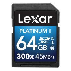 Secure Digital Lexar - Premium ii 300x lsd64gbbeu300