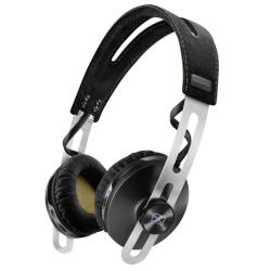 Sennheiser MOMENTUM - Casque - sur-oreille - sans fil - Bluetooth - NFC* - Suppresseur de bruit actif - noir