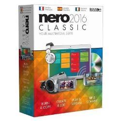 Software Nero - 2016 classic - box pack - 1 utente man001526