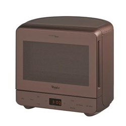 Micro ondes Whirlpool Max MAX 38 CACAO - Four micro-ondes grill - pose libre - 13 litres - 700 Watt - cacao choco