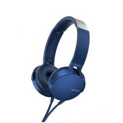 Cuffie con microfono Sony - MDR-XB550AP Blu