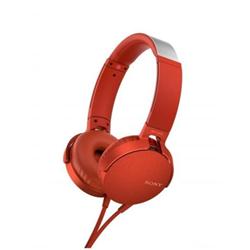Cuffie con microfono Sony - MDR-XB550AP Rosso