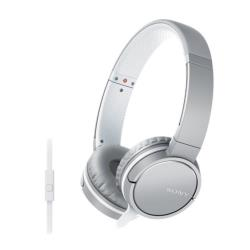 Sony MDR-ZX660AP - Casque avec micro - pleine taille - jack 3,5mm - blanc