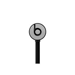 Beats urBeats - Écouteurs avec micro - intra-auriculaire - jack 3,5mm - isolation acoustique - gris - pour Apple iPad/iPhone/iPod