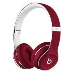 Beats by Dr. Dre Solo2 - Édition de luxe - casque avec micro - sur-oreille - jack 3,5mm - rouge - pour 12.9-inch iPad Pro; 9.7-inch iPad Pro; iPad mini 2; 4; iPhone 6s, SE