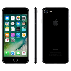 "Smartphone Apple iPhone 7 - Smartphone - 4G LTE Advanced - 256 Go - GSM - 4.7"" - 1334 x 750 pixels (326 ppi) - Retina HD - 12 MP (caméra avant 7 MP) - noir de jais"