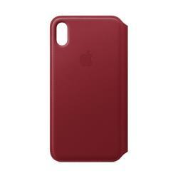 Cover Apple - Folio Flip Cover per iPhone XS Max Rosso