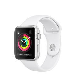Smartwatch Apple - Watch3 GPS, 42mm Silver, Case in alluminio e Cinturino Nero