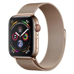 Smartwatch Apple - Watch series 4 (gps + cellular) - acciaio inossidabile oro mtx52ty/a