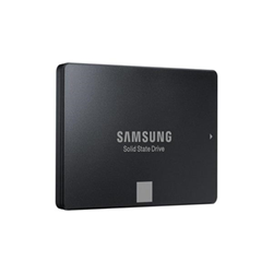 "Disque dur interne Samsung 750 EVO MZ-750500 - Disque SSD - chiffré - 500 Go - interne - 2.5"" - SATA 6Gb/s - mémoire tampon : 512 Mo - AES 256 bits - Self-Encrypting Drive (SED), TCG Opal Encryption 2.0"