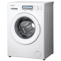 Lave-linge Panasonic NA-127VC6 - Machine à laver - pose libre - largeur : 59.7 cm - profondeur : 54.2 cm - hauteur : 84.5 cm - chargement frontal - 50 litres - 7 kg - 1200 tours/min - blanc