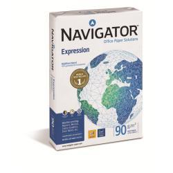 Carta Navigator - Expression - carta comune - 500 fogli - a4 - 90 g/m² (pacchetto di 5) nex0900169