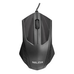 Mouse Nilox - Mt30 - mouse - usb - nero nxmo0800001