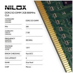 Memoria RAM Nilox - Nxs2800m1c6