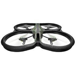 Quadricottero Parrot - AR.Drone 2.0 Nero, Verde Elite Edition Jungle