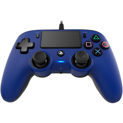 Controller BigBen Interactive - Nacon Wired Compact Coloured Blue PS4