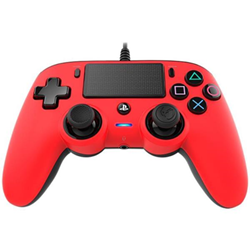 Controller BigBen Interactive - Nacon Wired Compact Coloured Red PS4