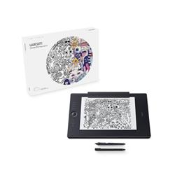 Tavoletta grafica Wacom - Intuos pro paper edition medium - digitizer - usb, bluetooth - nero pth-660p-s