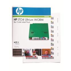 Etichette Hewlett Packard Enterprise - Hpe ultrium 4 worm bar code label pack - etichette per codici a barre q2010a