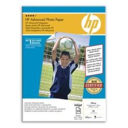 Carta fotografica HP - Advanced glossy photo paper - carta fotografica - lucido - 25 fogli - a4 q5456a