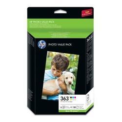 Cartuccia HP - 363 series photo value pack - 1 q7966ee#301