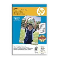 Carta fotografica HP - Advanced glossy photo paper - carta fotografica - lucido - 25 fogli q8691a