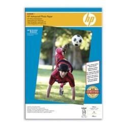 Carta fotografica HP - Advanced photo paper - carta fotografica - lucido - 20 fogli - a3 q8697a