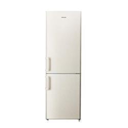 Réfrigérateur Hisense RB374D4AY1 - Réfrigérateur/congélateur - pose libre - largeur : 59 cm - profondeur : 59.3 cm - hauteur : 185 cm - 288 litres - congélateur bas - classe A+ - sable