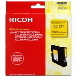 Cartuccia Ricoh - Gc 21y - giallo - originale - cartuccia d'inchiostro 405535