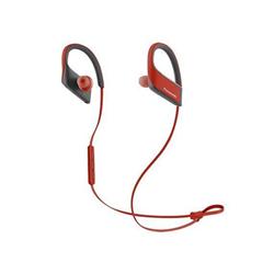 Panasonic Wings RP-BTS30E - Écouteurs avec micro - intra-auriculaire - montage sur l'oreille - sans fil - Bluetooth - rouge