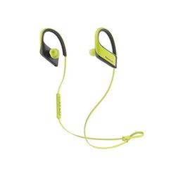 Panasonic Wings RP-BTS30E - Écouteurs avec micro - intra-auriculaire - montage sur l'oreille - sans fil - Bluetooth - jaune